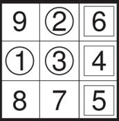 Trio Sudoku Puzzles