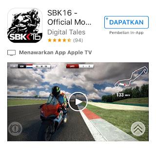 daftar game balap motor racing terbaik di iphone dan ios lainnya