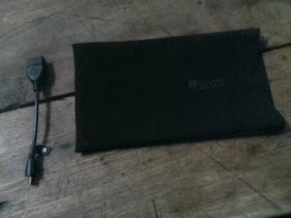 I got iBall Slide i701 Pouch and OTG Cable Free