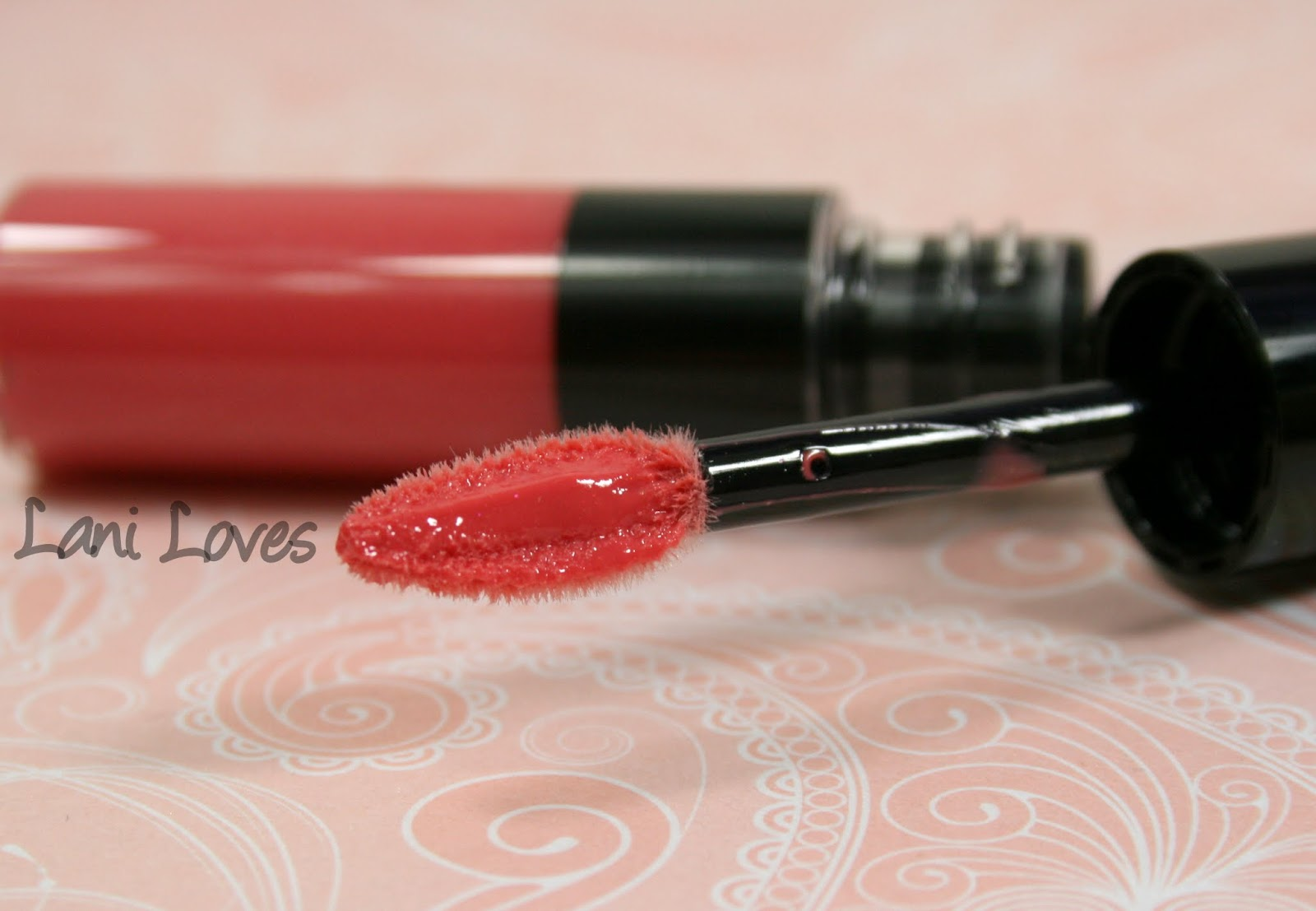 ZA Rich-Glam Liquid Rouge - PK331 Swatches & Review