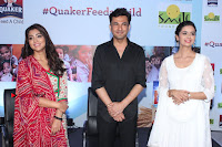Shriya Saran and Meenakshi Dixit Pos at Quaker Feed A Child Campaign  0008.jpg