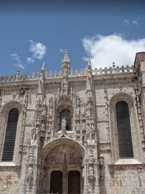 entrata del monastero dos Jerónimos