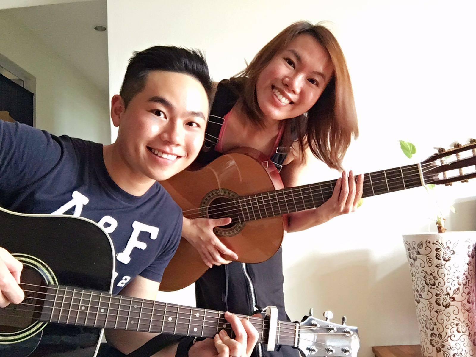 Guitarists Of Singapore Gos Sky Elizabeth Chords Haven