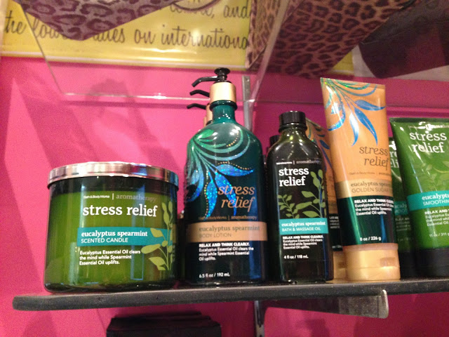 Bath & Body Works - Stress Relief 'Eucalyptus Spearmint' line - www.modenmakeup.com