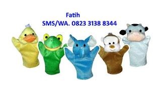 5 boneka tangan untuk dongeng