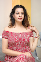 Diksha Panth in a Deep neck Short dress at Maya Mall pre release function ~ Celebrities Exclusive Galleries 104.JPG