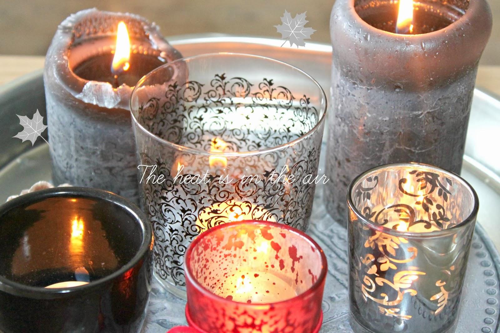 świecznik i świeczka