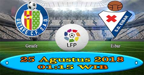 Prediksi Bola855 Getafe vs Eibar 25 Agustus 2018