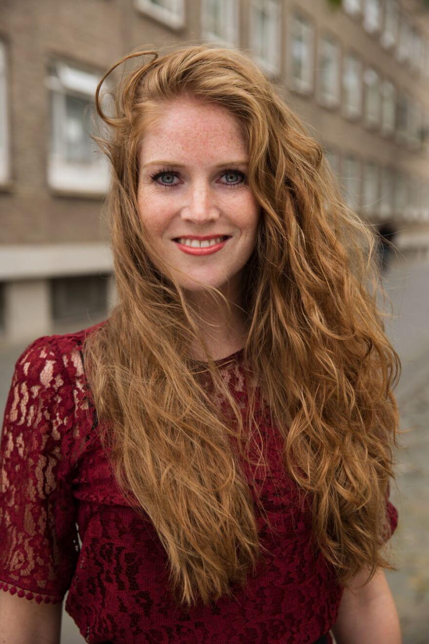 30 Stunning Pictures From All Over The World That Prove The Unique Beauty Of Redheads - Judith From Breda, Netherlands