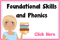 Foundational Skills and Phonics