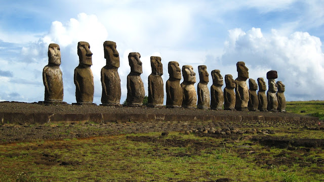 Rock Sculptures Easter Island
