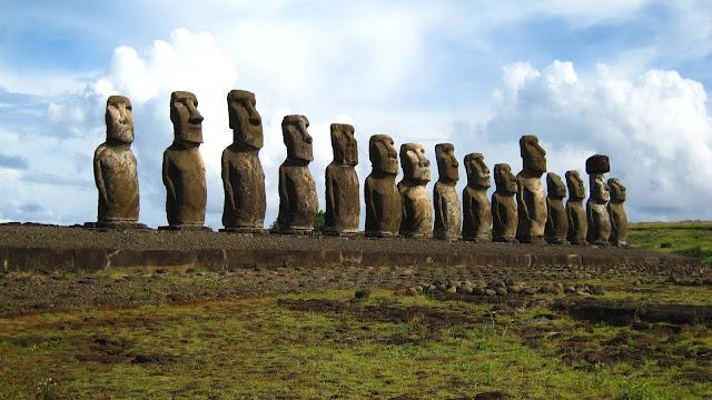 Rock Sculptures Easter Island