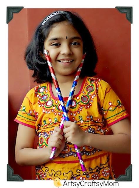 Navratri dress for kids