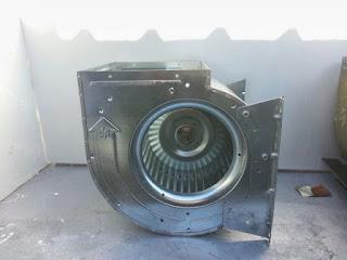 foto motor de extracción de campana restaurante de madrid