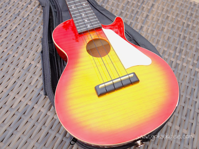 Epiphone Les Paul Ukulele top