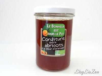 Confiture extra abricots à la fleur d'oranger - Le Bonheur est dans le Pot