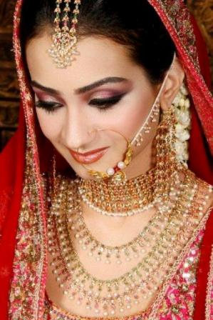 Latest Pakistani Bridal Nose Pin Jhumar Designs Collection