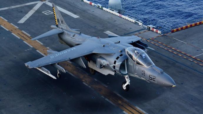 Wallpaper: AV-8B Harrier