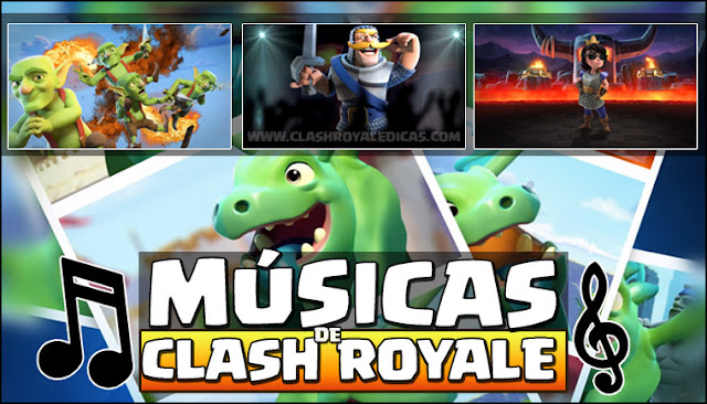 Advertise Clash Royale Music