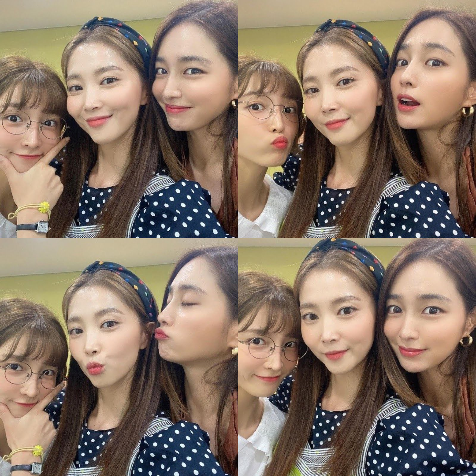 Oh Yoon Ah Expresses Her Love For Her Drama Sisters Lee Min Jung And Lee Cho Hee In Recent Selfies Ddoboja Blog Let S Watch It Again