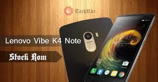 Lenovo K4 Note Official Vibe UI v6 Stock Marshmallow