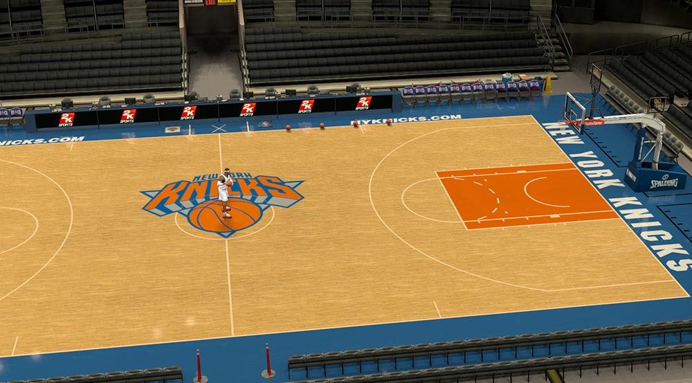 Nba 2k14 New York Knicks Court Update V2 Nba2k Org