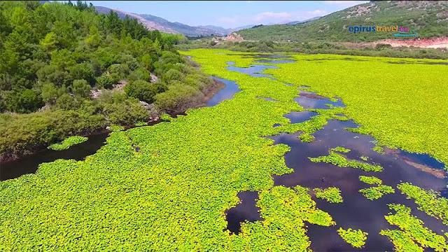 Θεσπρωτία: πτήσε με drone πάνω από τη Λίμνη Καλοδικίου (ΒΙΝΤΕΟ)