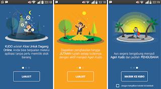 Menjadi Pengusaha Hanya Bermodalkan Smartphone Dan Aplikasi KUDO