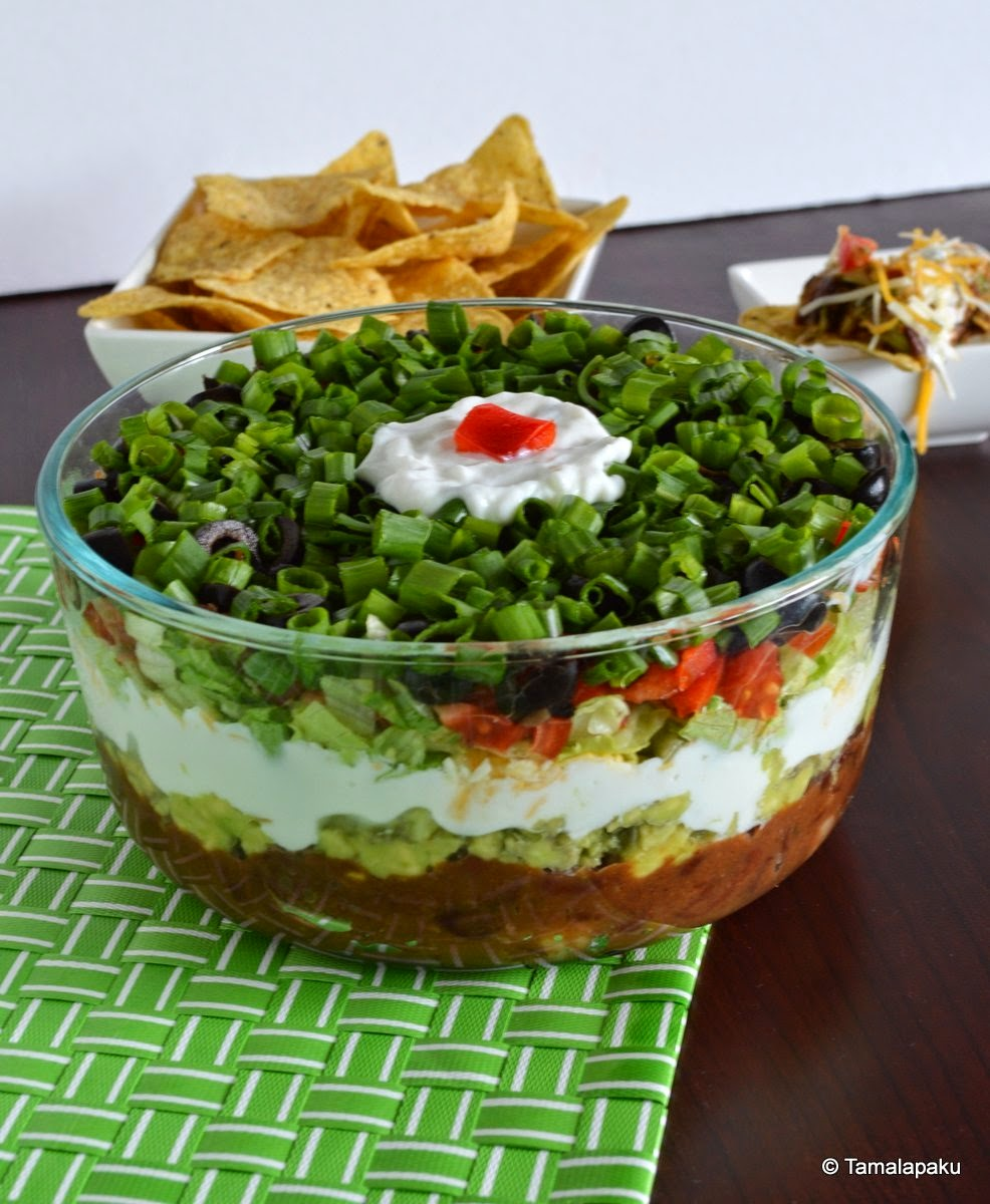 Seven Layered Bean Dip