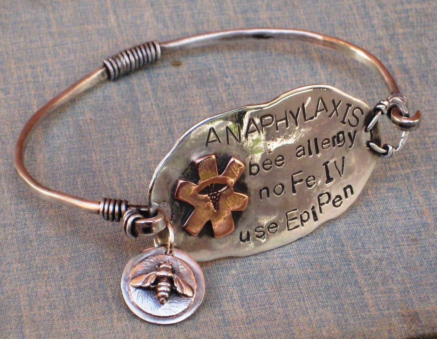 Greatest Bw*SiLvEr}: Needing A Stylish Medical Alert BraceletSTAT! IZ85