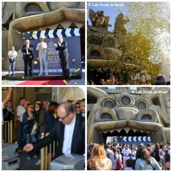 inaugurazione Cinecittà World