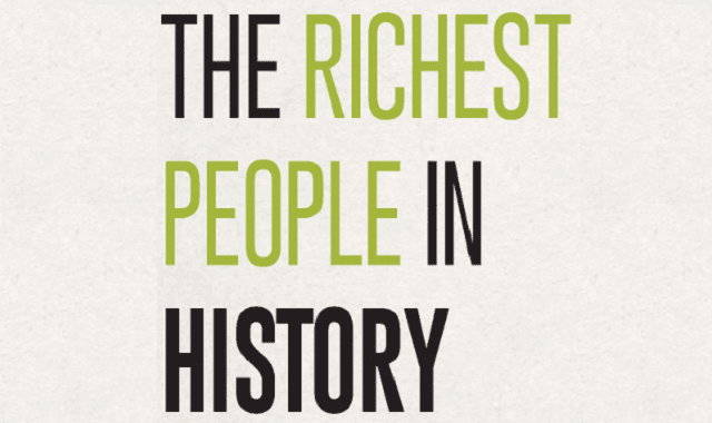 The Richest People In History
