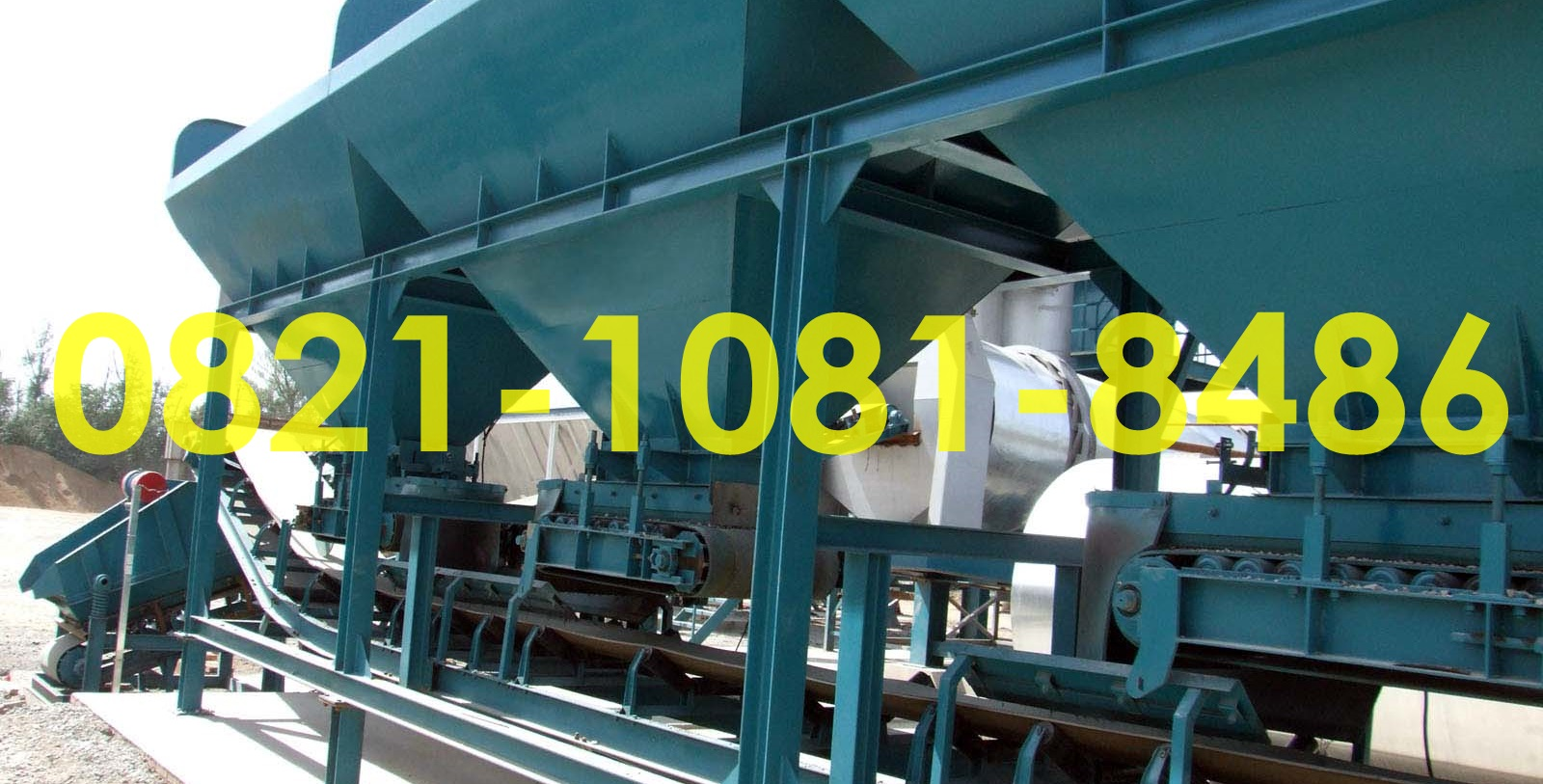 Jual Blending Equipment Plant Murah