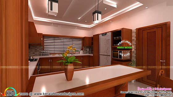 Modular kitchen work in Kerala