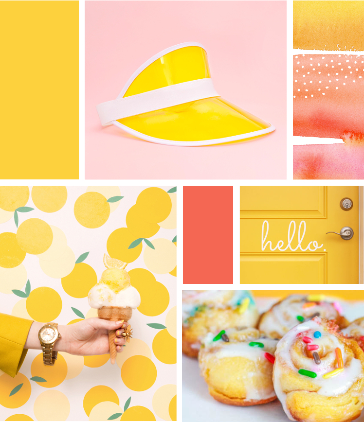 MONDAY MOODBOARD - HELLO SUNNY YELLOW.