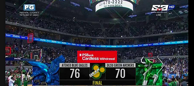 Ateneo def. La Salle, 76-70 (REPLAY VIDEO) Finals Game 1 | UAAP Season 80