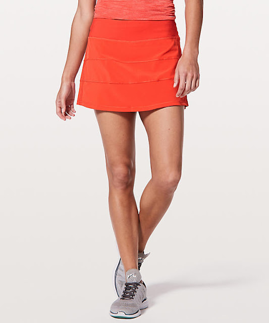 lululemon red-orange pace-rival