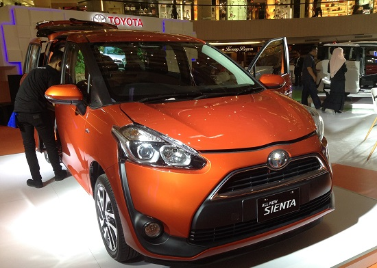 Warna Toyota All New Sienta 2016