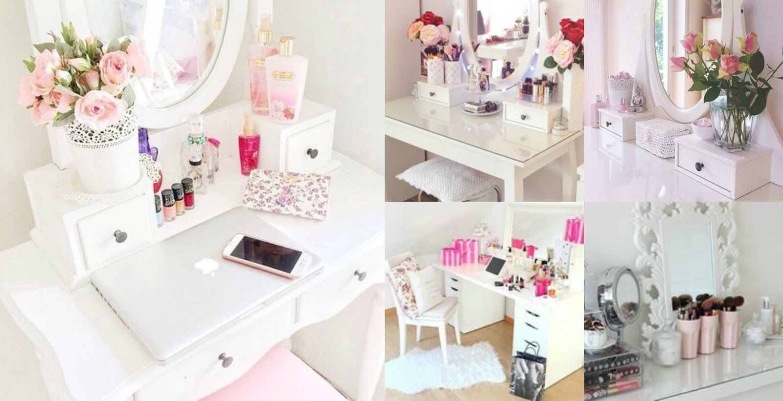Make Up Tafel : Mooie make up tafels van tumblr u niennthings