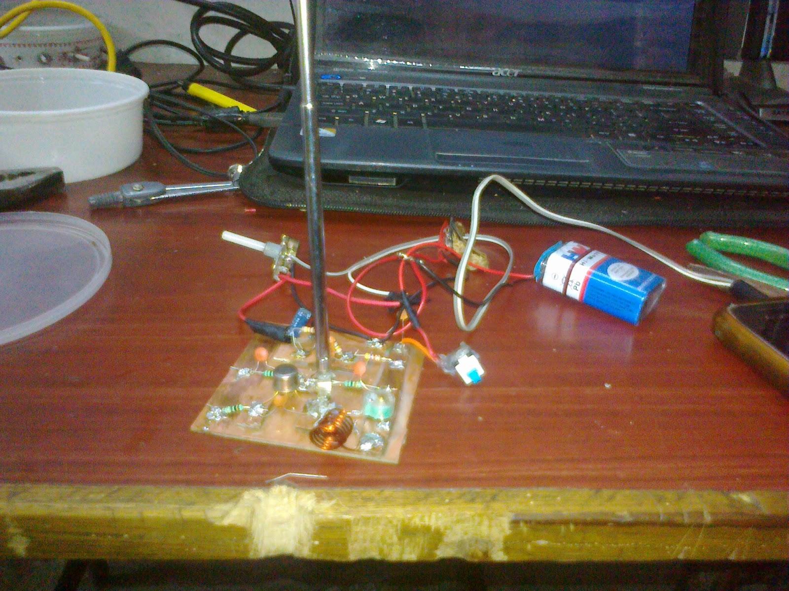 Long Range Transmitter Circuit 2 To 5 Km Range Homemade Circuit