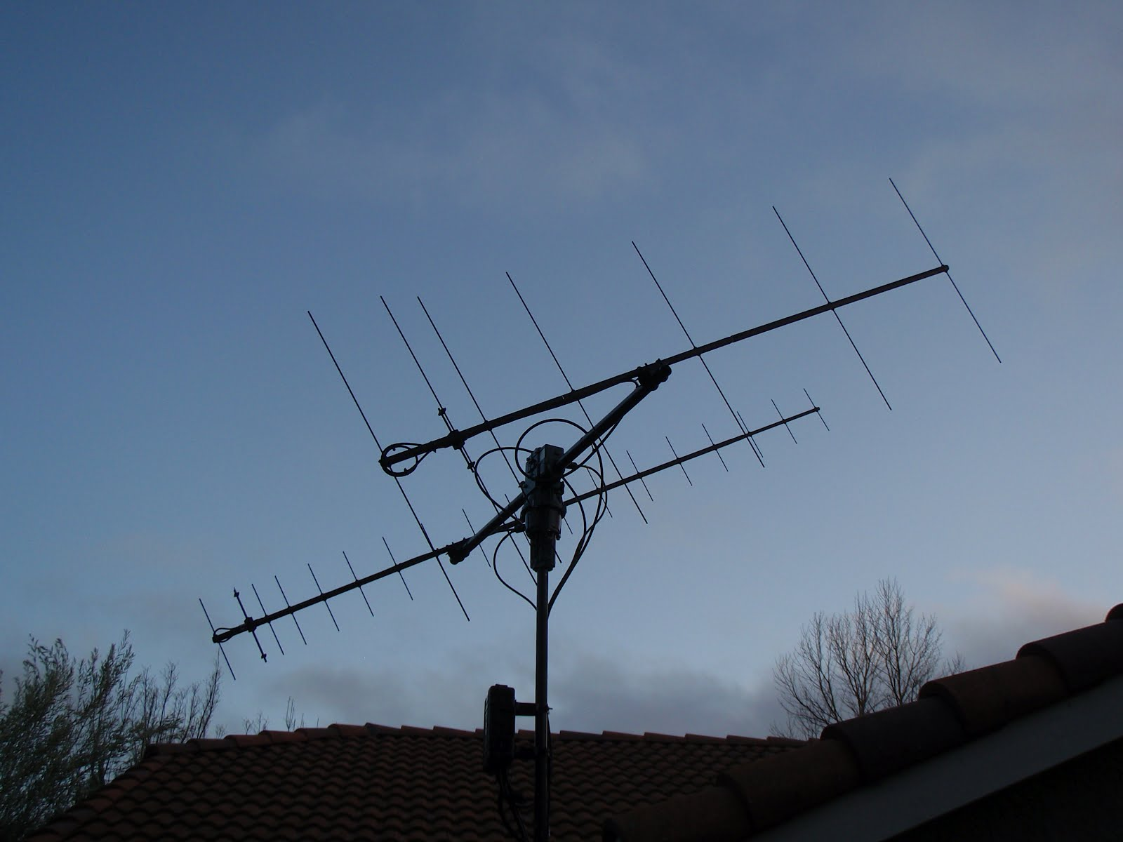 Matchless message, Amateur antenna system apologise