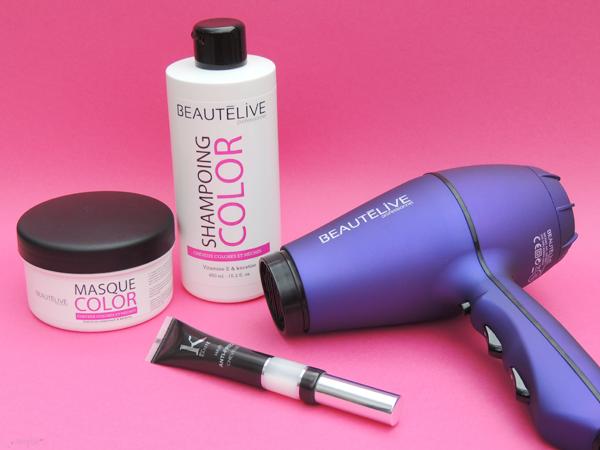 revue avis test gouiran beautelive seche cheveux shampoings
