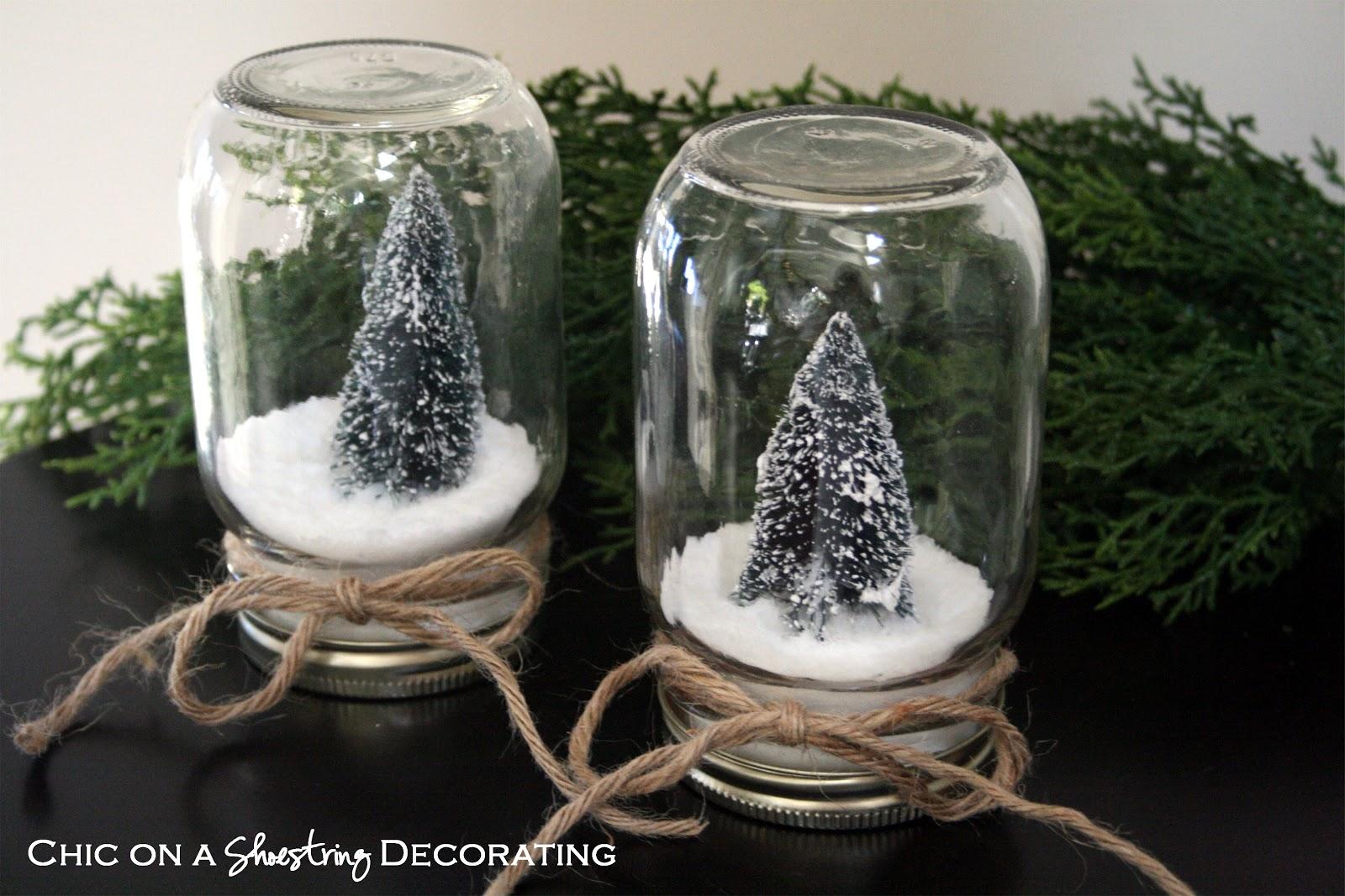 Hy Holidays Waterless Snow Globes