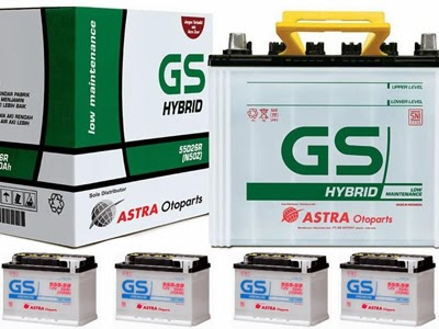 Harga Aki Motor GS Astra
