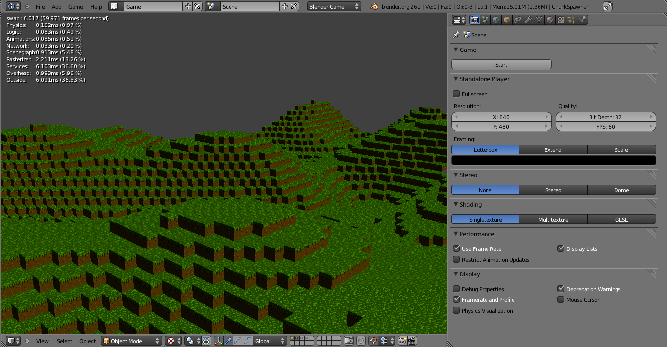 Game Up! Game Development Blog: Voxels in the BGE Demo