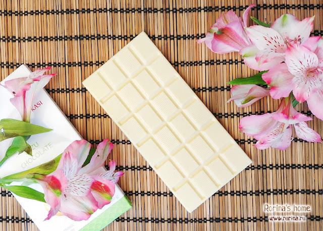 Шоколад Okasi с юдзу - отзыв