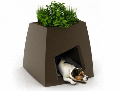 Dog House Planter