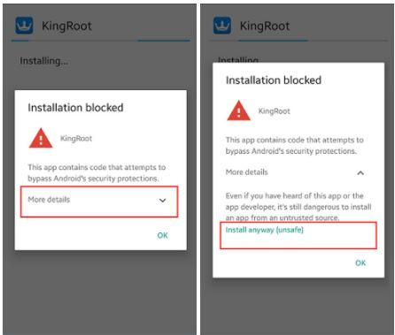 Install KingRoot App Root On Android
