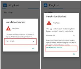Install KingRoot App Root Vivo Android