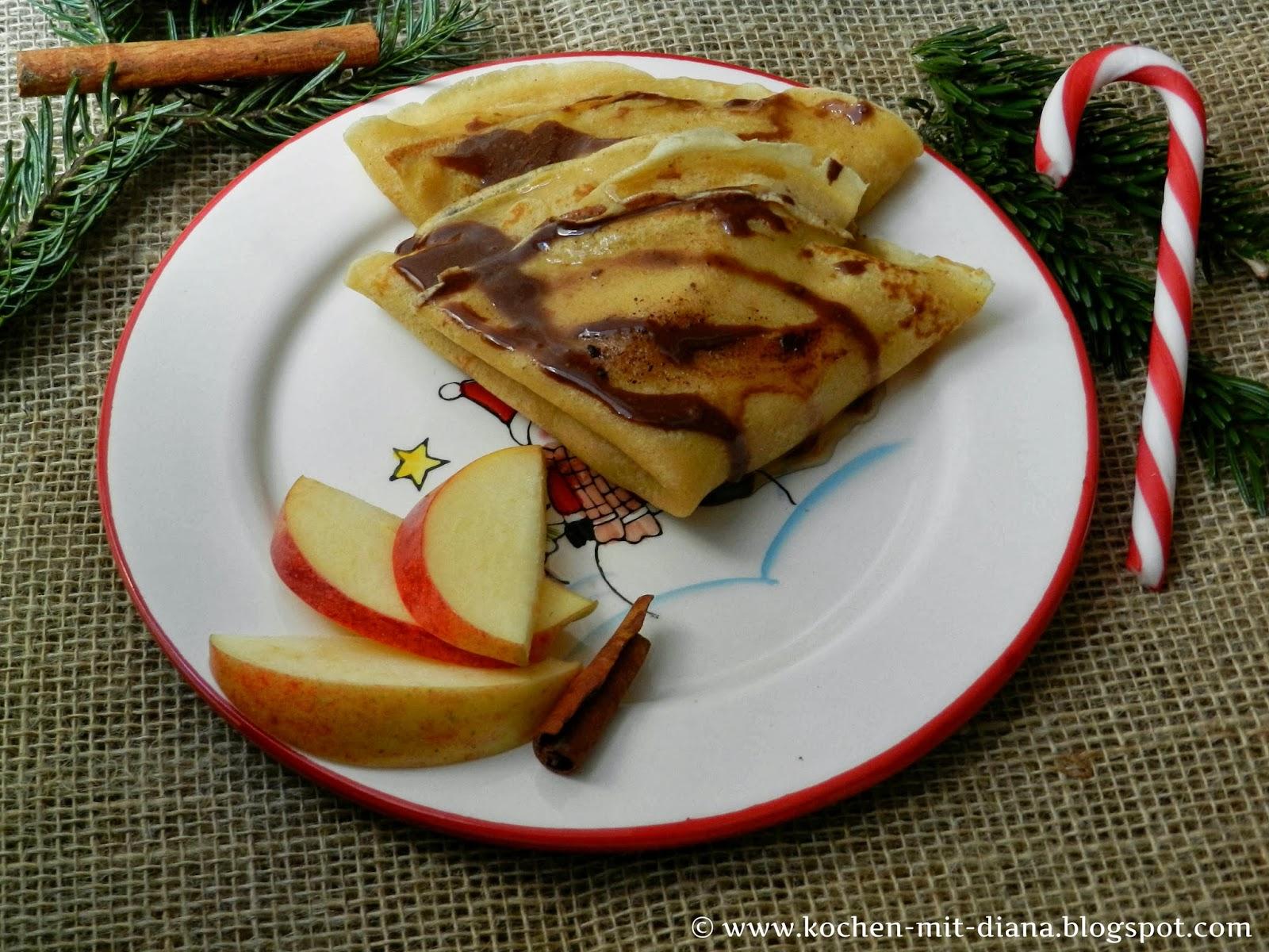 Lebkuchen-Crêpes